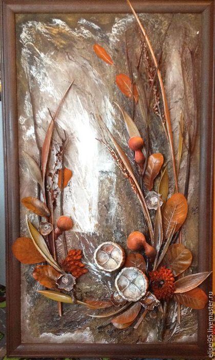 Абстракция ручной работы. Ярмарка Мастеров - ручная работа. Купить флористический коллаж, панно,интерьерная картина. Handmade. Картина, подарок