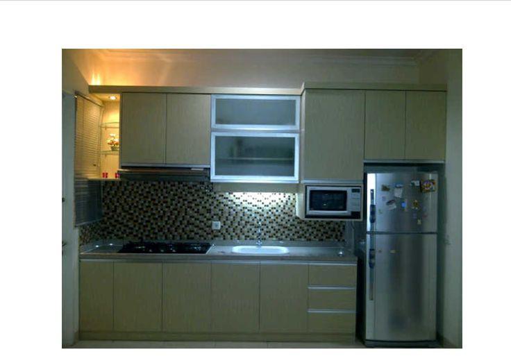 17 best images about home design interior on pinterest for Kitchen set minimalis modern