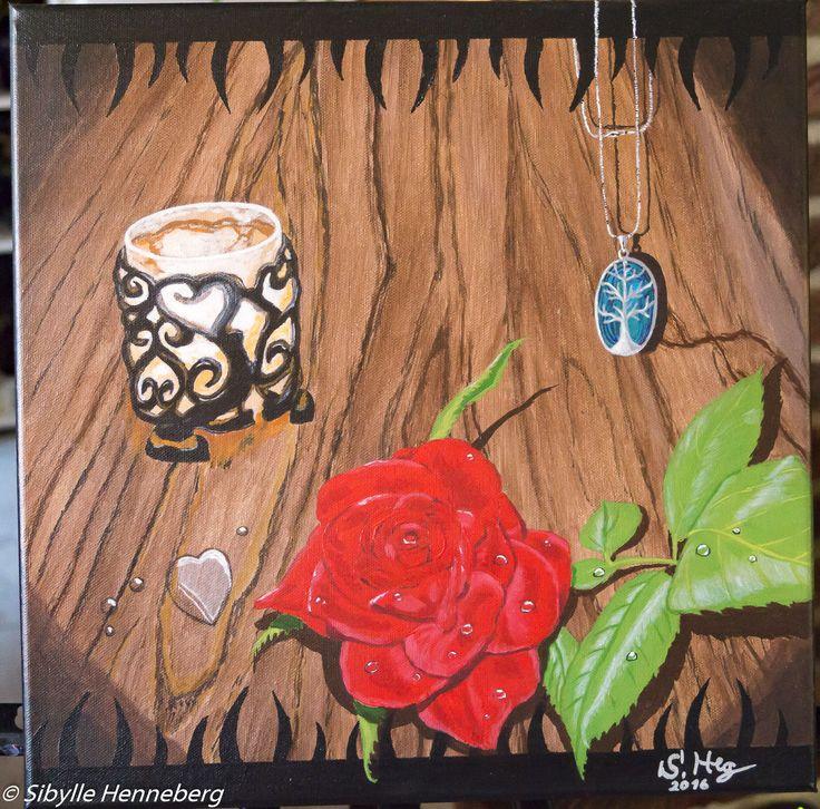 Fotohomepage - Kunstmalerei in Acryl handgemalte Bilder