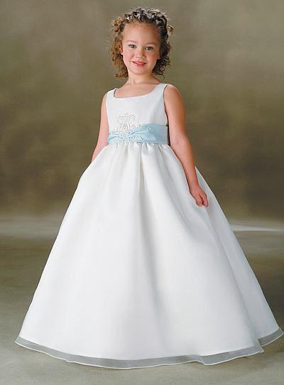 vestidos para dama de honra branco com azul