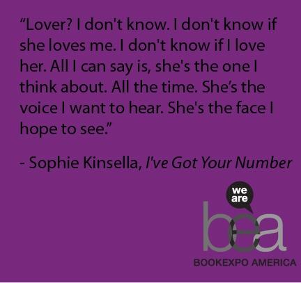 """""""I've Got Your Number"""" by Sophie Kinsella"""