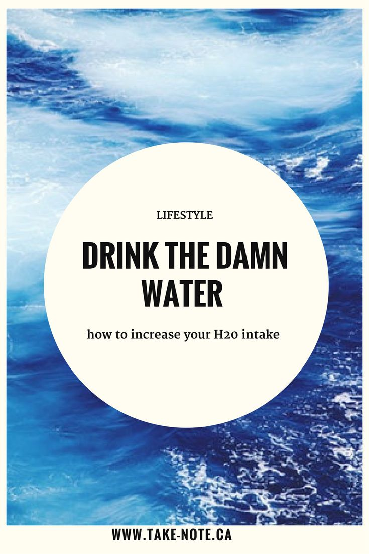 Water alternatives that help increase your daily H20 intake