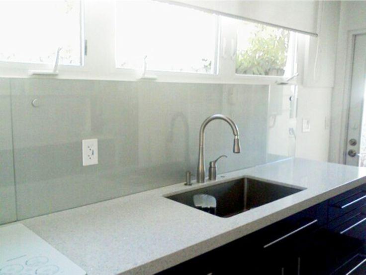 18 best backsplash in glass images on pinterest kitchen countertops backsplash and kitchens. Black Bedroom Furniture Sets. Home Design Ideas