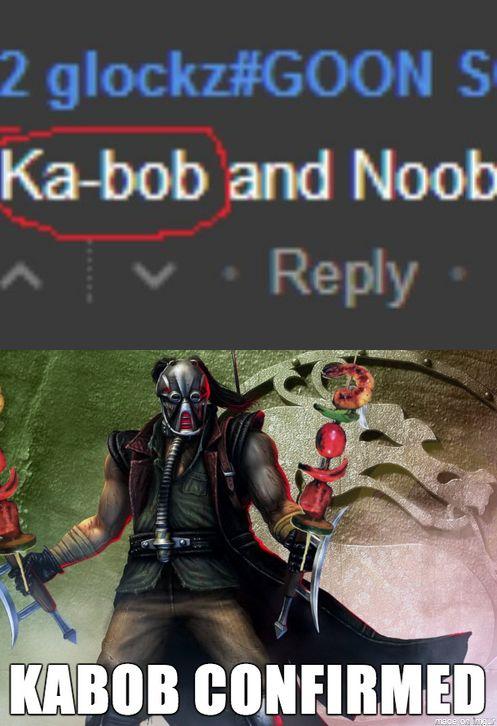 Kabob Confirmed - New Mortal Kombat Fan Character    | Video Game