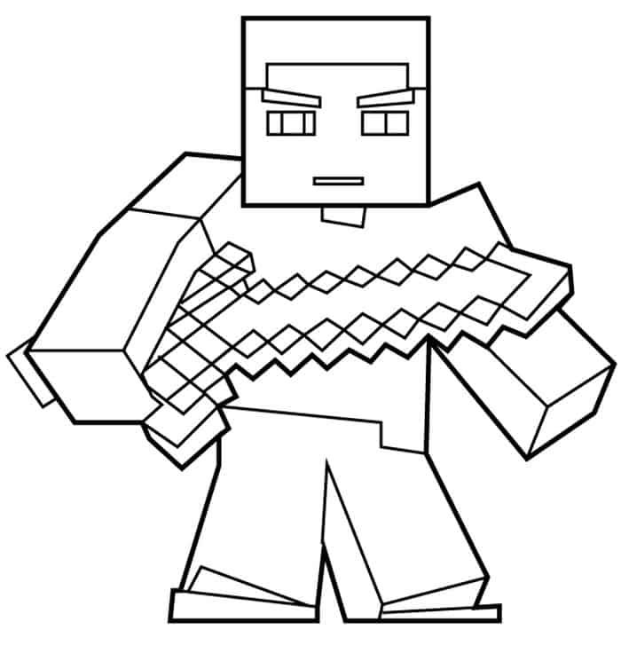 Minecraft Coloring Pages Herobrine Minecraft Coloring Pages Minion Coloring Pages Fnaf Coloring Pages