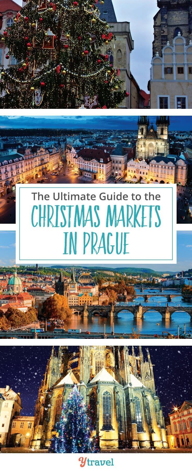 It's getting close to Christmas markets in Europe. Check out this ultimate guide to the Christmas markets in Prague written by Czech locals. #ChristmasMarkets #Europe #Prague