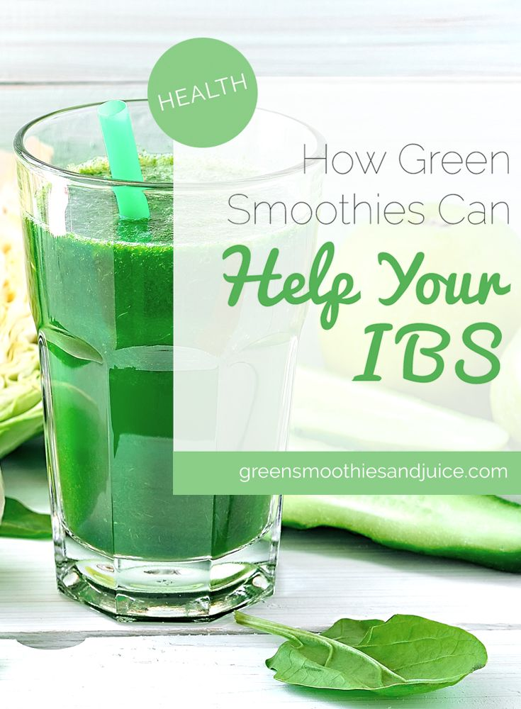 If you or someone you know struggles with IBS, green smoothies could be the answer!   #greensmoothies #healthtips