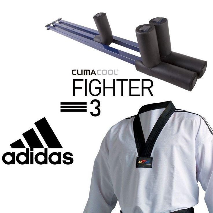*** Dobok Taekwondo ADIDAS para Competición FIGHTER 3 más Extensor de Regalo ***  #Taekwondo #Ninjutsu #Judo #Boxeo #SoloArtesMarciales #Hapkido #ArtesMarciales #BJJ #Karate #Muay
