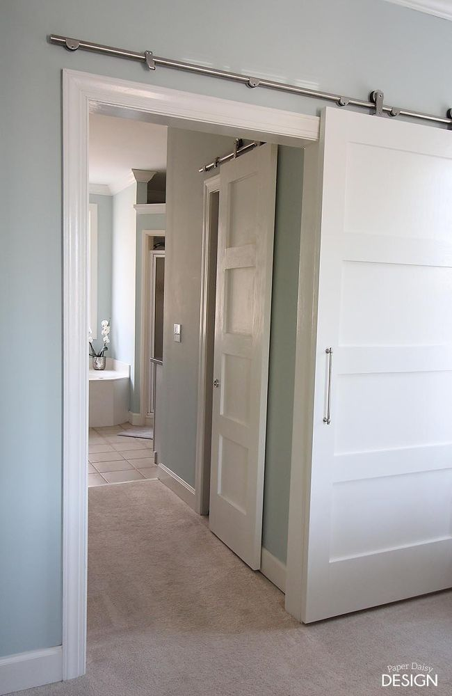 Modern Barn Doors: Solution for Awkward Spaces