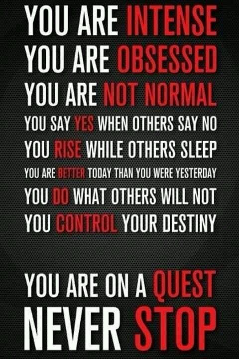 You are NOT like other people! www.fitness4anywhere.com