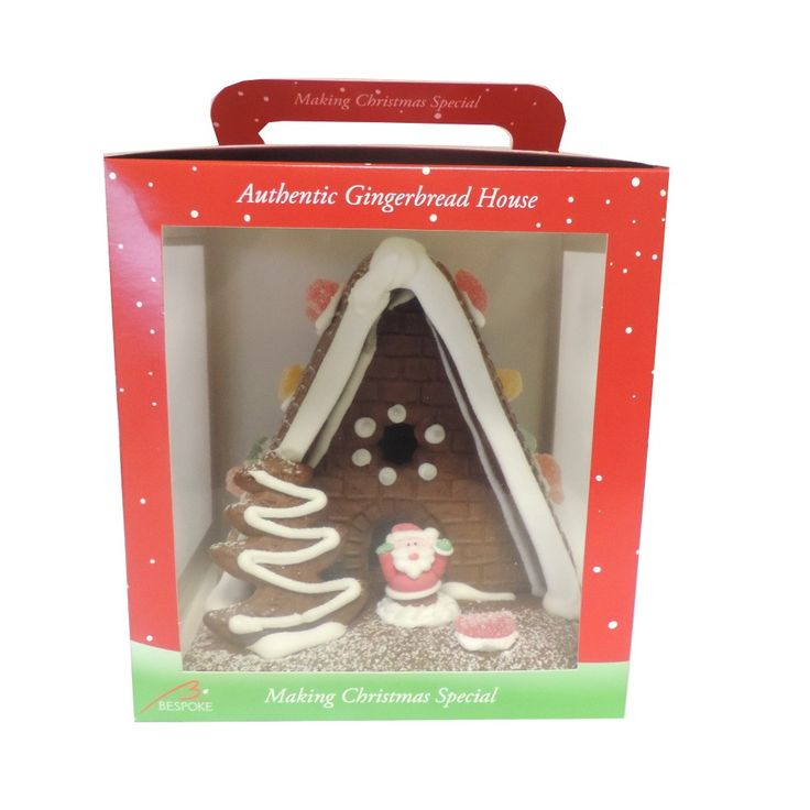 Bespoke Foods - Authentic Gingerbread House - 600g