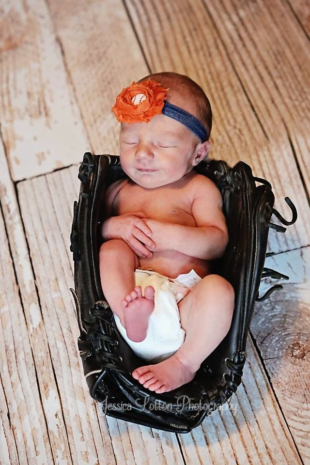 Detroit Tigers Baby Headbands Newborn Headband by BabyliciousDivas, $5.25