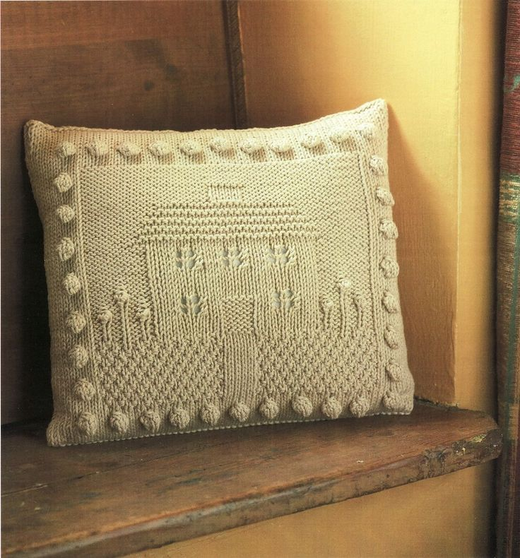 428 best Knit Pillows images on Pinterest | Knitted cushions, Knit ...