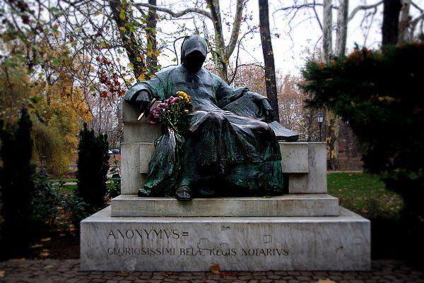 Anonymus, Budapest