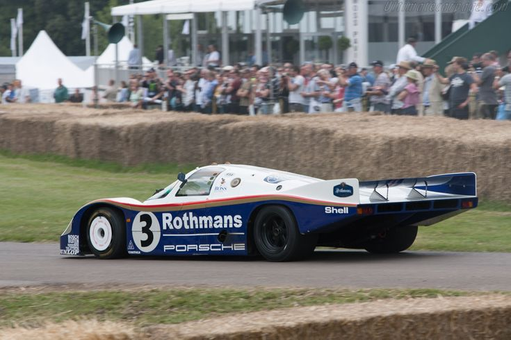 Porsche 956 (Chassis 956-003 - 2011 Goodwood Festival of Speed) High Resolution Image
