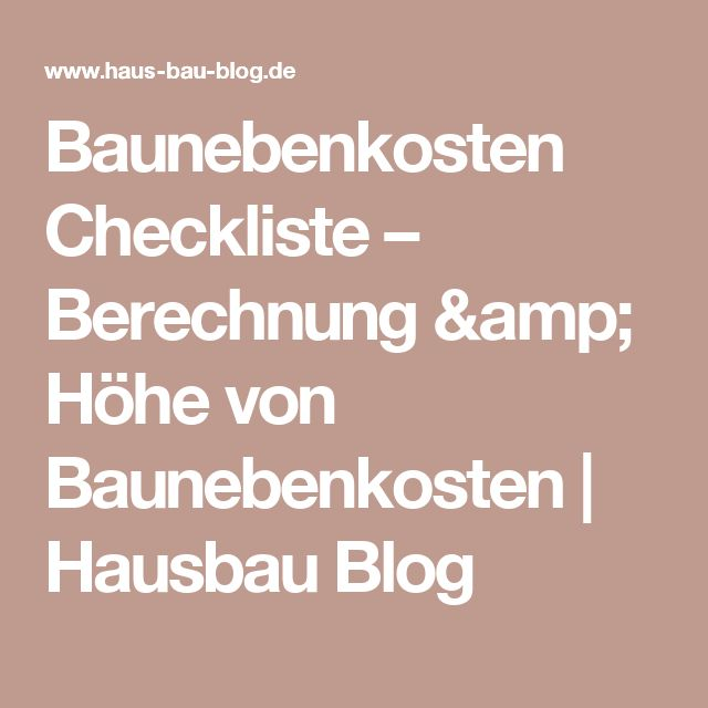 die besten 25 checkliste hausbau ideen auf pinterest. Black Bedroom Furniture Sets. Home Design Ideas