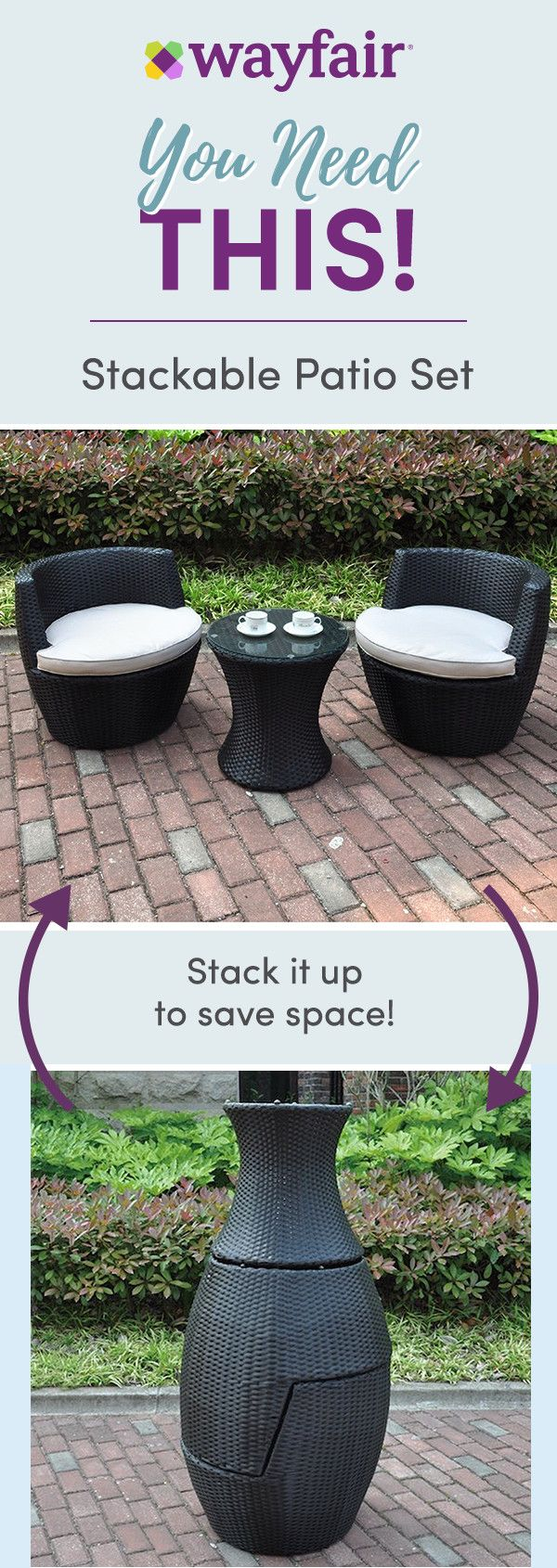 You need this sign up for access to exclusive sales and new arrivals every day small patio no problem shop the best prices on multifunctional furniture