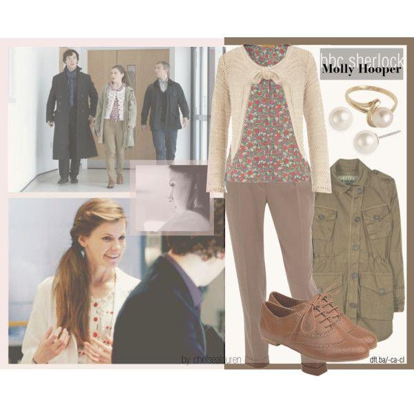 """Molly Hooper | BBC's Sherlock"" by chelsealauren10 on Polyvore"