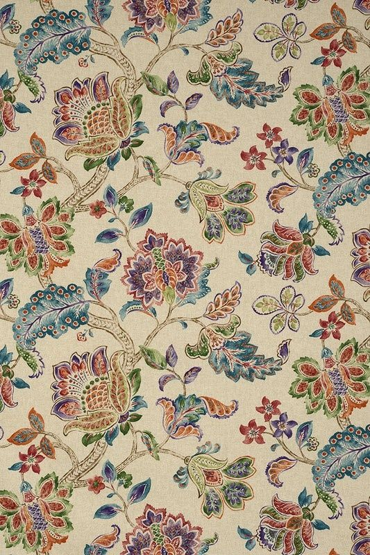 Giardino Natural Peacock (12214-101) – James Dunlop Textiles   Upholstery, Drapery & Wallpaper fabrics