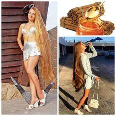 Truque caseiro que faz o cabelo crescer com mel de abelhas e canela