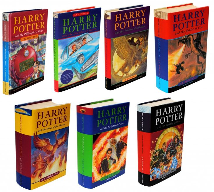 The Harry Potter series by JK Rowling. 1. The Philosophers Stone 2. The Chamber of Secrets 3. The Prisoner of Azkaban 4. The Goblet of Fire 5. The Order of the Phoenix 6. The Half Blood Prince 7. The Deathly Hallows  Will always love these books- I have so many memories of them. The first big novel I ever read was The Philosophers Stone when I was 6;)