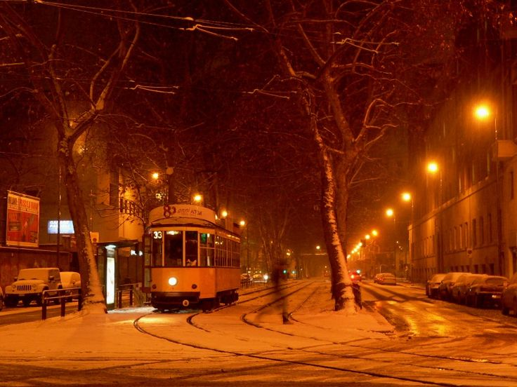 milano night snow ile ilgili görsel sonucu