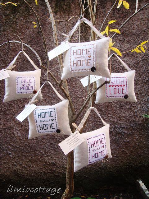 Il mio cottage: L'albero dei cuscini morbidosi ! !