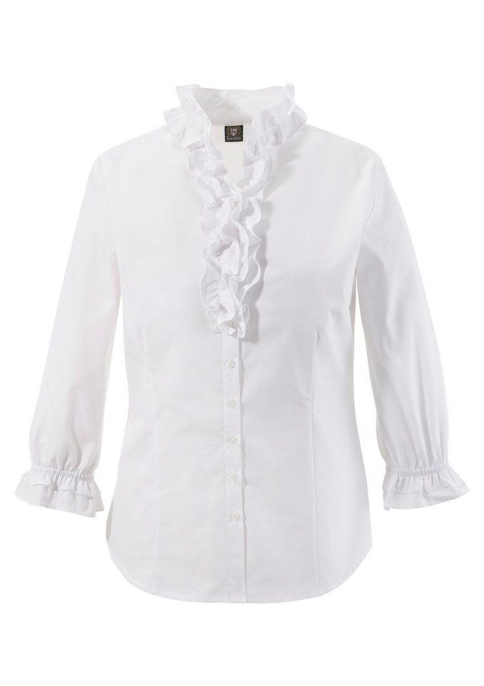 6cbb301d7940 OS-Trachten Trachtenbluse Damen mit Rüschen | Produktkatalog Fashion ...