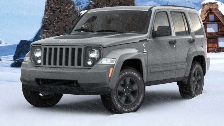 WINTER CHILLBRIGHT WHITE Jeep Liberty Arctic Edition I Want this