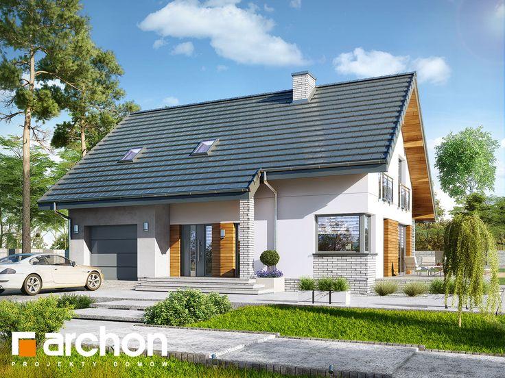 Najnowszy #projektdomu w ofercie ARCHON+: Dom w aurorach 3.