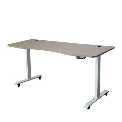 Symple Stuff Letcher Electric Standing Desk Converter Size 51 H