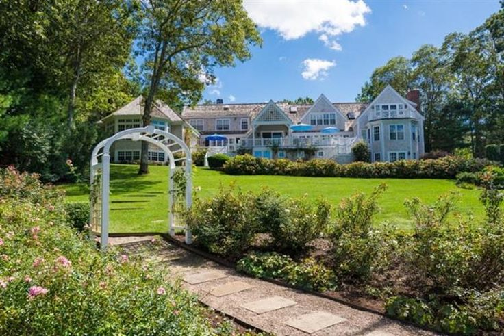 $7,900,000 - View 34 photos of this 7 Beds 8.2 Baths Cape Cod home built in 1970. Elegance defined in this grand waterfront residence located in prestigiou