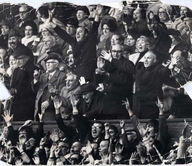 Liverpool v Leeds, April 1973. Bill Shankly celebrates winning the championship with as mush ecstasy as any Kopite