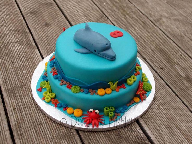 Podmořský svět s delfínem