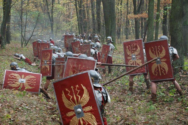 Eine merkwürdige Rechtspraxis gab es im römischen Heer: Wenn ein Soldat ein…