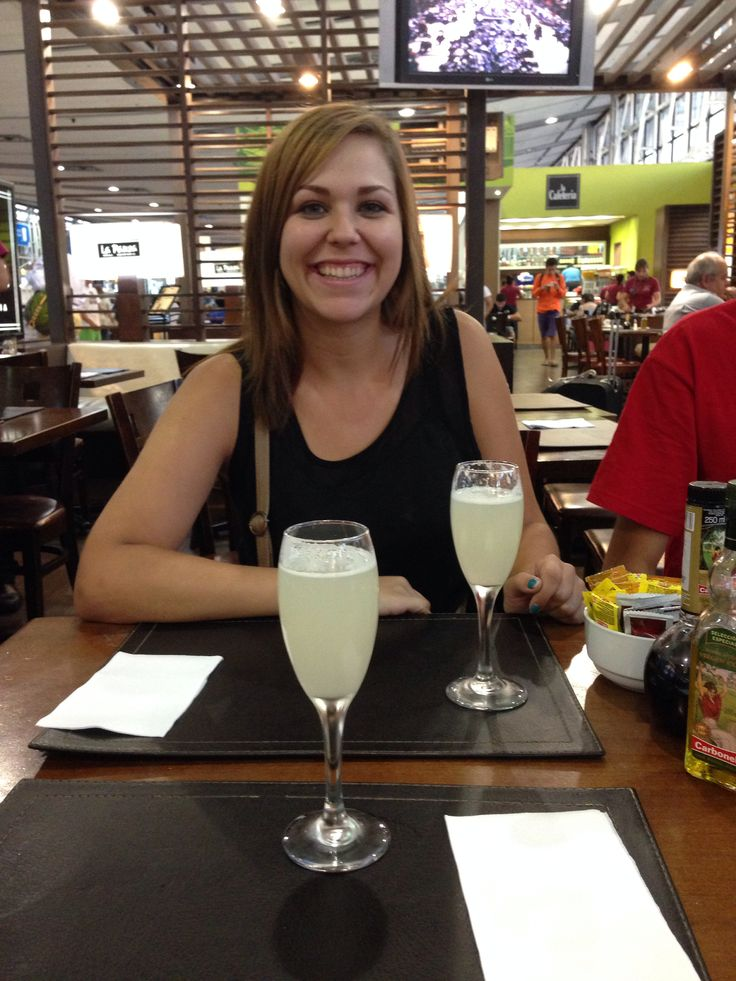 Who knew best Pisco Sours are at the airport!