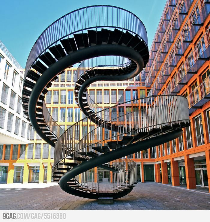Infinite Staircase by Olafur Eliasson