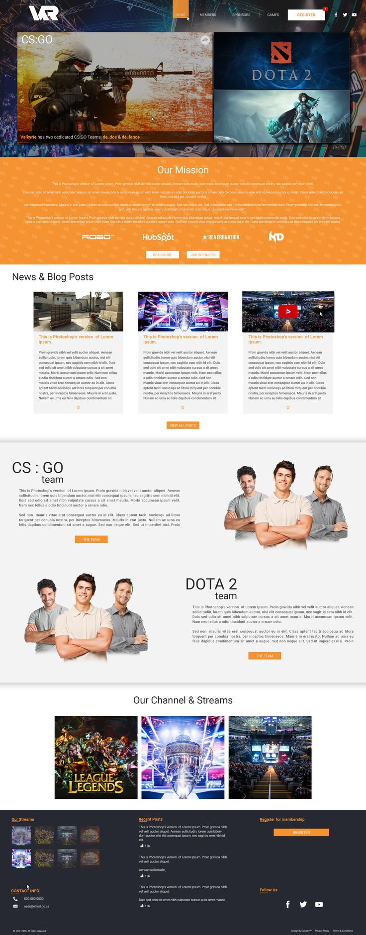 Another awesome concept design by Duncan Meyer at Epicdev. Check out some more web designs from our Portfolio http://epicdev.co.za/agile-software-development
