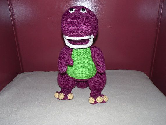 Barney Dinosaur Knitting Pattern : Barney crochet toy Crochet Pinterest The ojays, Crochet toys and Toys