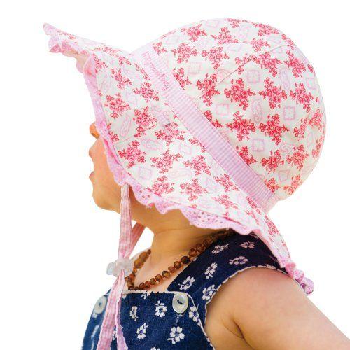 Millymook Baby Girls Reversible Cotton Evie Pink Floppy Sun Hat UPF50+ (0-12 Months) Millymook http://www.amazon.com/dp/B00GW3ZISS/ref=cm_sw_r_pi_dp_q2X7ub09V3BWS