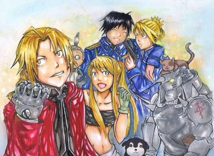 Fullmetal Alchemist by NinjaWithAHat.deviantart.com on @deviantART