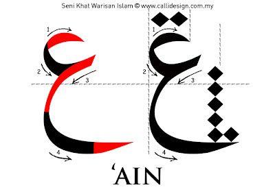 Leçon 4: Khat Nasakh ~ Seni Khat Warisan Islam | Calligraphie islamique