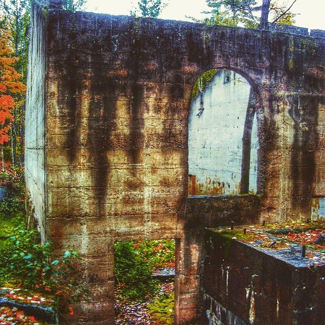 Visit Banning State Park in  Minnesota to view the historic ruins of the Banning Sandstone Quarry. Photo credit: @luth_ally #OnlyinMN