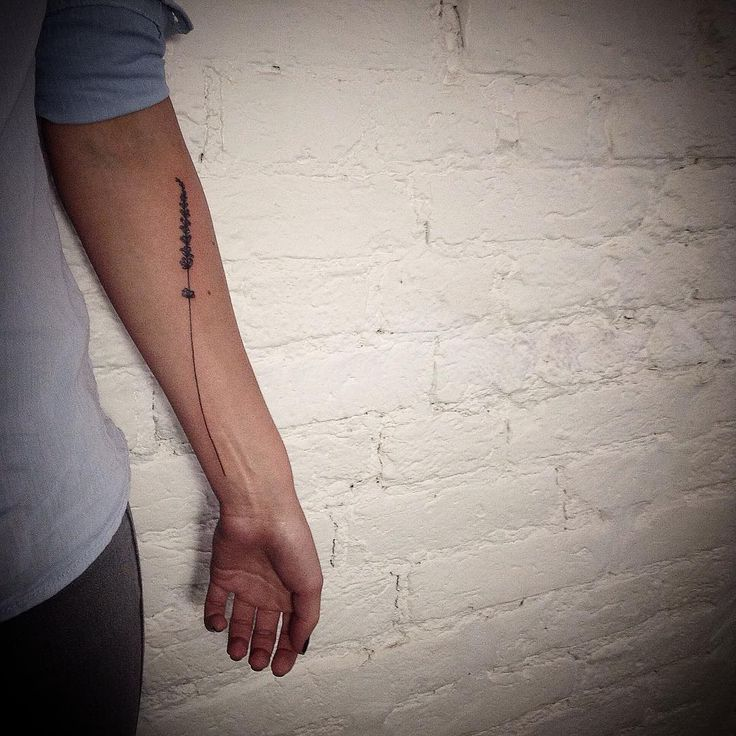 lavender twig tattoo