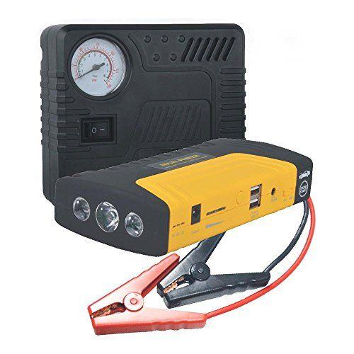 Pyle PBPK56 Roadside Car Care Kit with Flashlight (PBPK56)