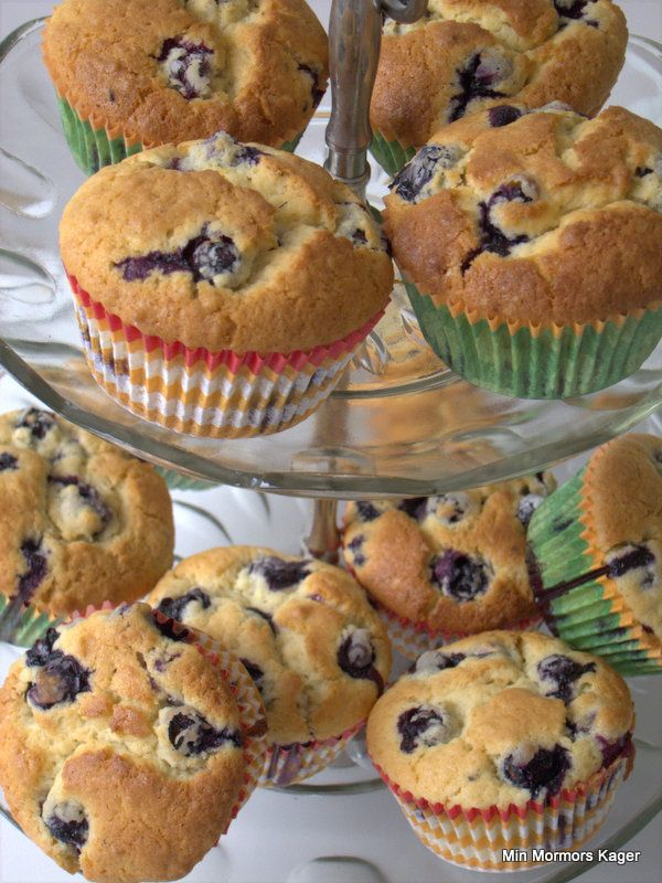 Store, lækre, saftige blåbærmuffins – der er ikke meget, som kommer op på siden af dem. For snart 10 år siden boede jeg i Skotland, og der fandt jeg den bedste muffin-pusher, man kunne ønske sig. Deres blueberry muffins var...