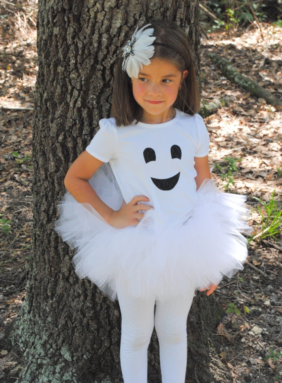 Friendly Ghost Girl Tutu And Shirt/Baby Bodysuit Set - Halloween Ghost Costume  sc 1 st  Pinterest & 10 best images about Halloween on Pinterest
