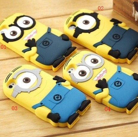 Cute Cartoon Soft Case Cover for iPod Touch 4/4g/4th Generation/iPhone 4/4s/5/5s/Galaxy S3/S4-Cute Cartoon Despicable Me 2 Minions Soft Case Cover for iPod Touch 4/4g/4th Generation/iPhone 4/4s/5/5s/Galaxy S3/S4, fun cases in silicone protect your iPod touch. It is Easy access to all ports, controls and connectors-Cartoon phone Cases