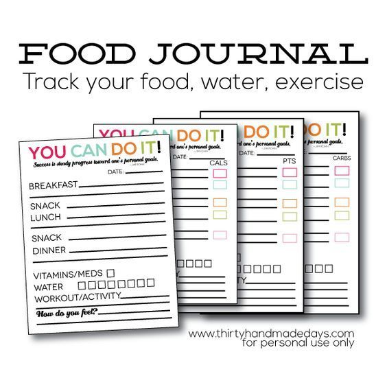 The 25+ best Food journal ideas on Pinterest Weight loss journal - food journal sample