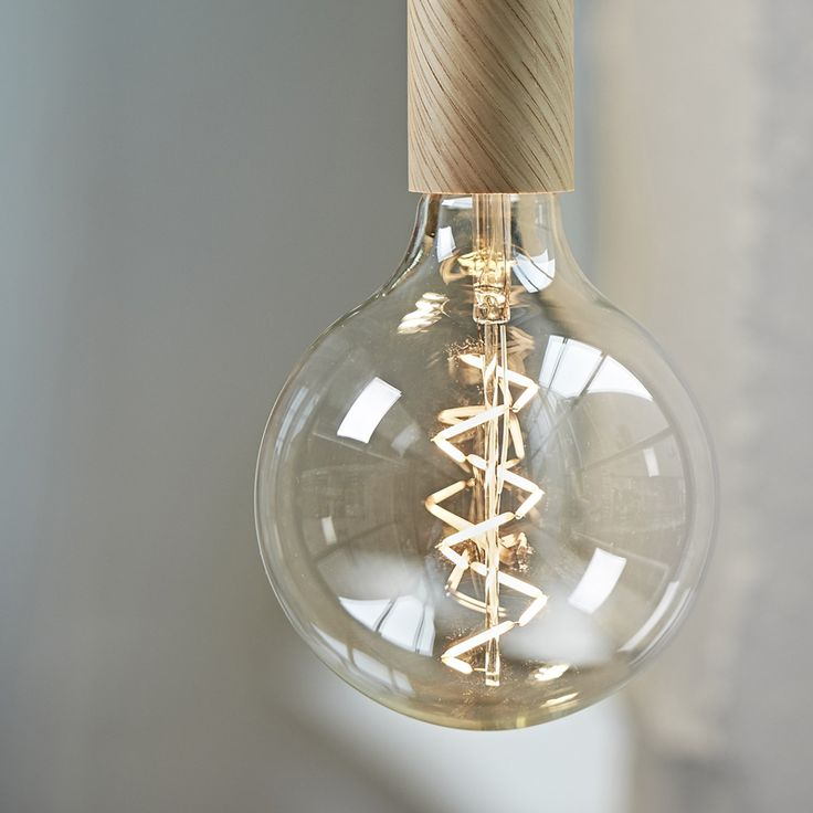 New NUD LED Spiral. Provides a soft and delicate light.